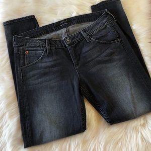 Hudson Black Wash Super Skinny Jeans 29